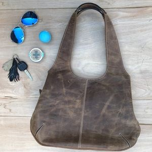 Handbags - Distressed Leather Purse